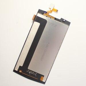 Image 4 - 5.5 Oukitel K10000 Pro LCD ekran + dokunmatik ekranlı sayısallaştırıcı grup 100% orijinal test LCD ekran cam Panel K10000 Pro