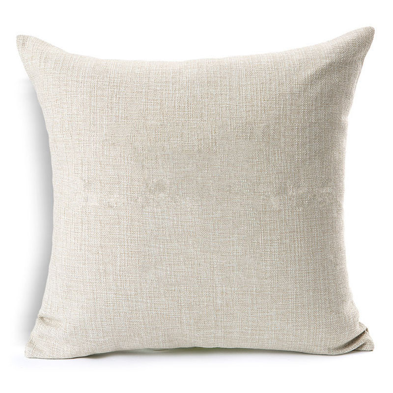 Peachy Us 4 08 5 Off Pure White Beige Color Cushion Cover Pillowcase Chair Seat Home Sofa Decoration Kids Diy Printing Drawing T Customized For Mz In Unemploymentrelief Wooden Chair Designs For Living Room Unemploymentrelieforg