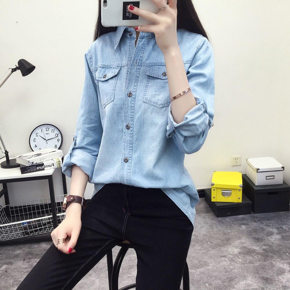 camicie 2019 allentate jeans