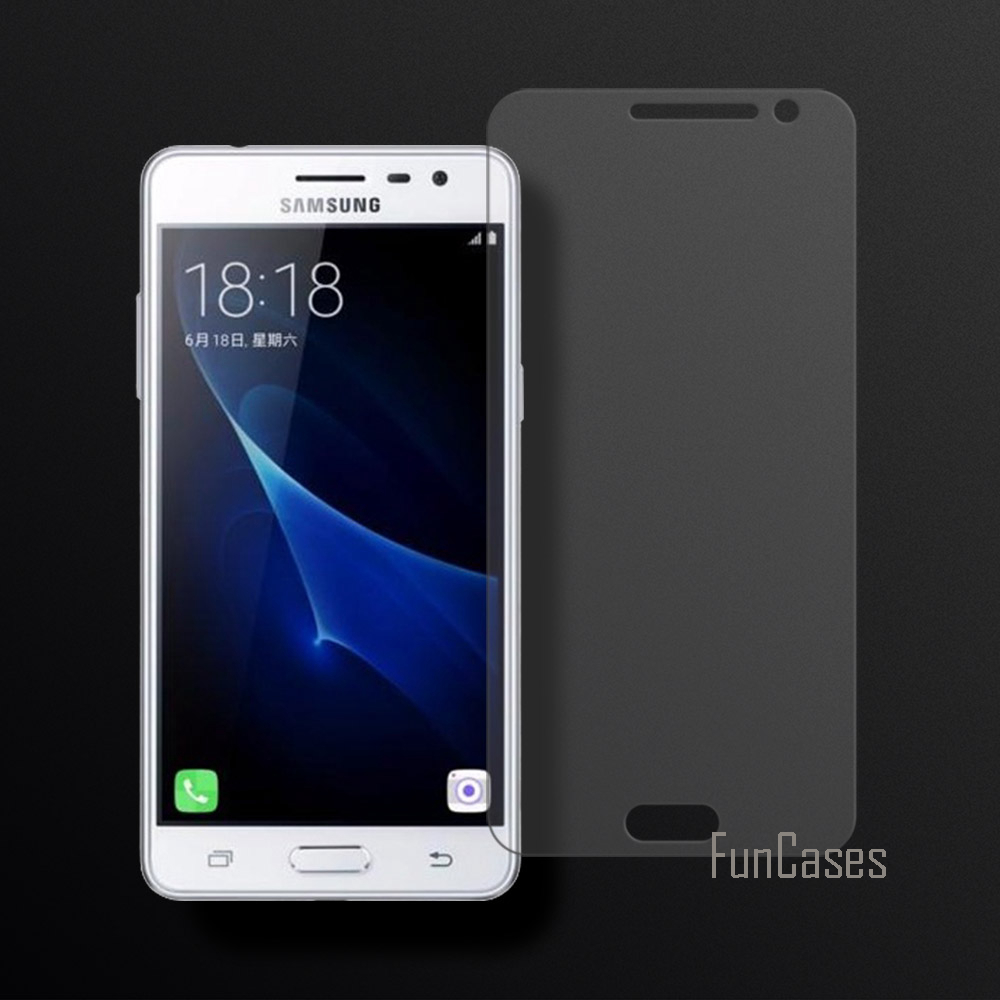 Tempered Glass For Samsung Galaxy J3 Pro Screen Protector Film For Samsung Galaxy J3 Pro 2.5D Curved Edge Screen Tempered Glass