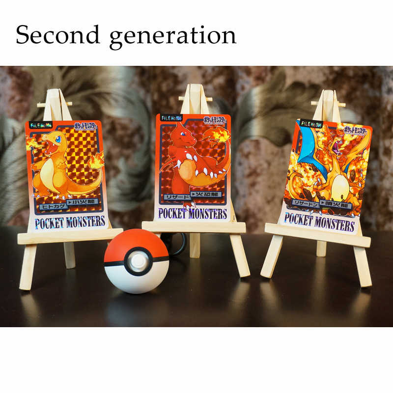 Pokemon Go Ns Ensemble De Compétences Carte Flash Carré Clignotant Gaze Flash Collection Cadeau Enfants Jouets