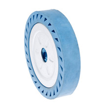 DRELD 250*40*32mm Solid Rubber Contact Wheel For Belt Grinder Sander Polishing Chamfering Grinding Abrasive