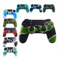 10pcs/lot 10 colors New Camouflage Silicone Protective Case Skin Grip Cover for ps4 Game Controller Protective Free shipping