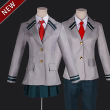 Boku no Hero Academia AsuiTsuyu Yaoyorozu Momo Cosplay Costumes School Uniform My Hero Academia(China)