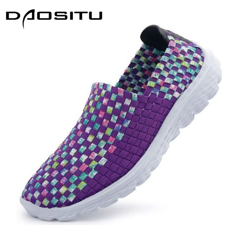 DAOSITU 2018 Fashion Women Shoes Summer Stretch Elastic Female Sapato Casual Shoes Woman Flats for Spring Autumn west scarp mujer shoes fashion summer flats loafers women leather shoes daily casual woman shoes spring autumn sapato feminino