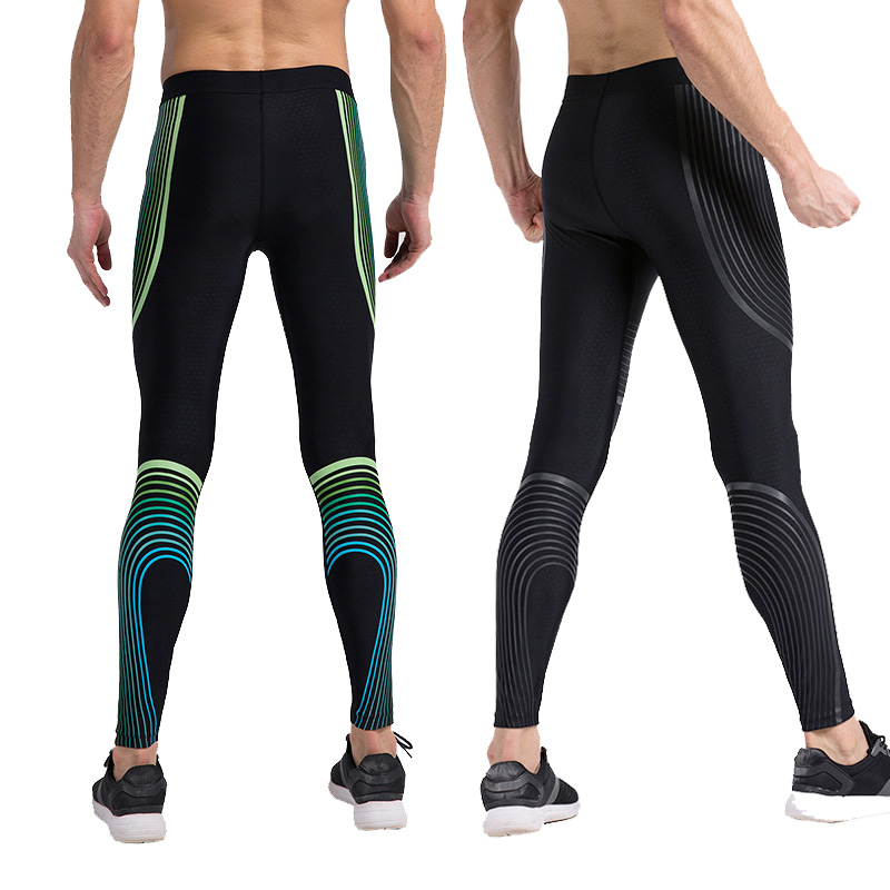 men Trousers Sportswear Mens Compression Pants Running Tights Basketball Gym Pants Bodybuilding Jogger Jogging Skinny Leggings
