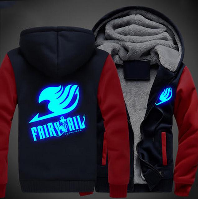 Fairy Tail Glowing Jacket Hoodie (4 colors)