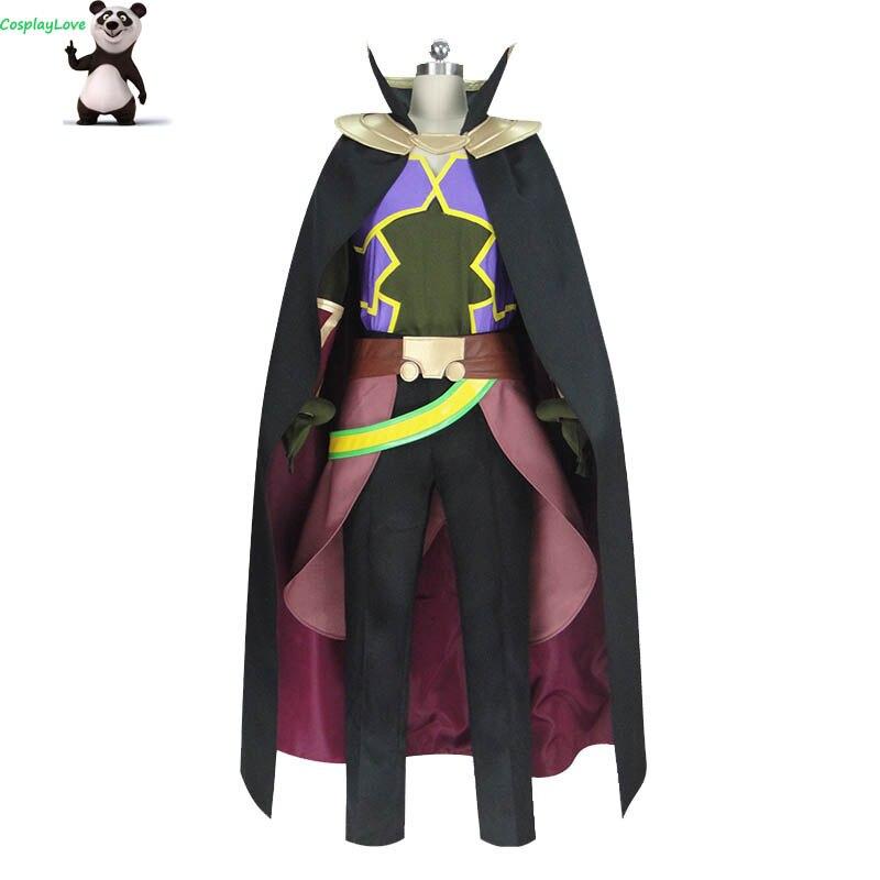 Isekai Maou To Shoukan Shoujo Dorei Majutsu Takuma Sakamoto Diablo Cosplay Costume Custom Made For Halloween CosplayLove