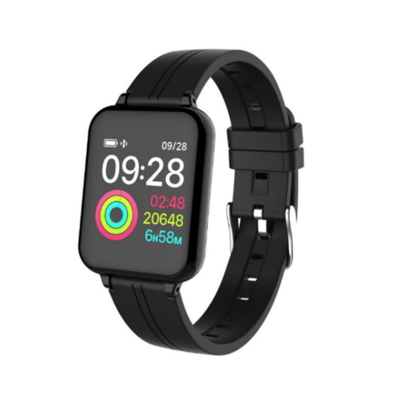 2019 Fashion IP67 Smart Watch 24H Heart Rate Monitor Sport Modes Stopwatch For IOS Android Phone