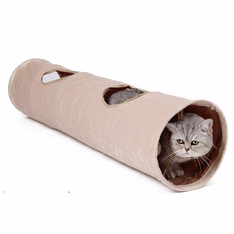 luxury cat tunnel Luxury Cat Tunnel-Suede Material,Soft And Durable-Free Shipping HTB1L1kdKpXXXXXIXFXXq6xXFXXXW