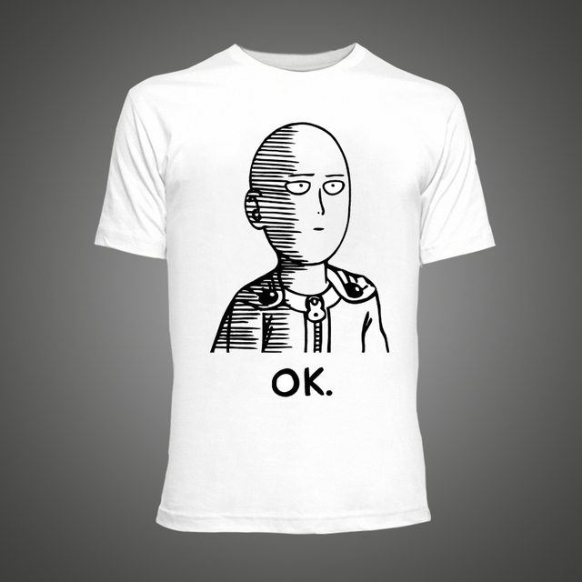 One Punch Man Anime ONE Oppai T-shirts