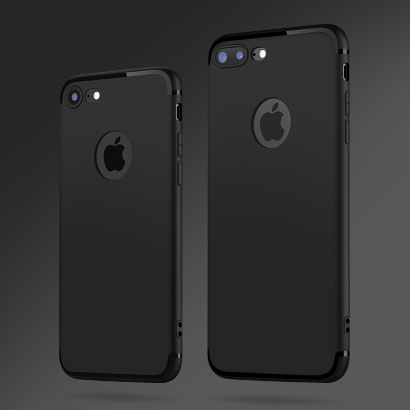 apple iphone 7 plus case black