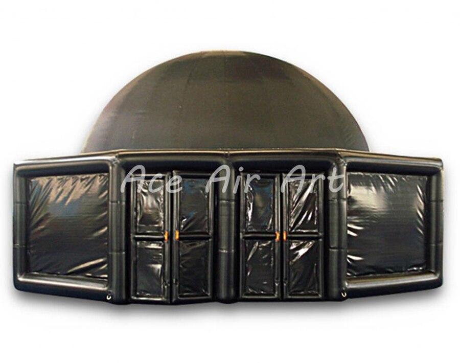 Prend l'astronomie à l'école gonflable dôme Projection tente Portable planétarium