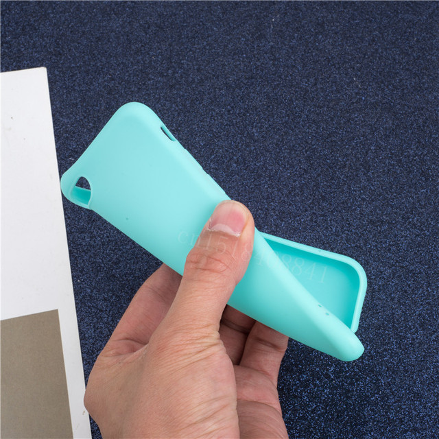 Luxury Soft Back Matte Color Cases for iPhone 7 plus 8 6 6s X XS max XR 5 5s SE Case Shockproof TPU Silicone Back Cover Capa 5