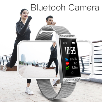Microwear X11 Smart Wristband IP68 Waterproof Fitness Bracelet Touchscreen 0.96'' LCD Pedometer Heart Rate Monitor Smart Band