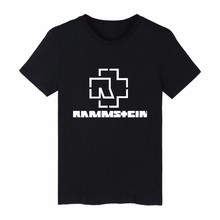 LUCKYFRIDAYF Summer Rammstein t-shirt Summer Hip Hop T Shirt Tshirt For Men Women Unisex Camisetas Homme Pendant Femme Plus Size