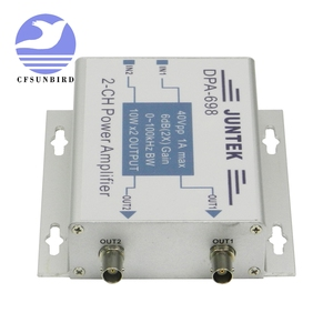 Image 3 - DPA 698 high power dual channel DDS function signal generator power amplifier DC power amplifier 40Vpp