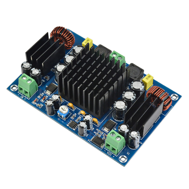 AIYIMA TPA3116 ハイパワー車のオーディオアンプボード 150 ワット TPA3116D2 アンプ採用ブースターシステム Amplificador DC12 24V