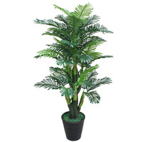 artificial Potted Tree 170cm Scutellaria palm tree Plastic Flower artificial Plants greenery fake plants with pot for home decor