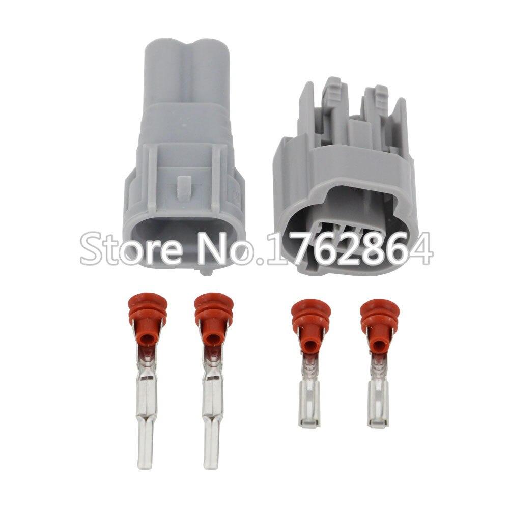 2 Pin Car connector plug,Car Waterproof fog lamp plug for SGMW Toyota car ect.Free Shipping DJ7023-2-11/21