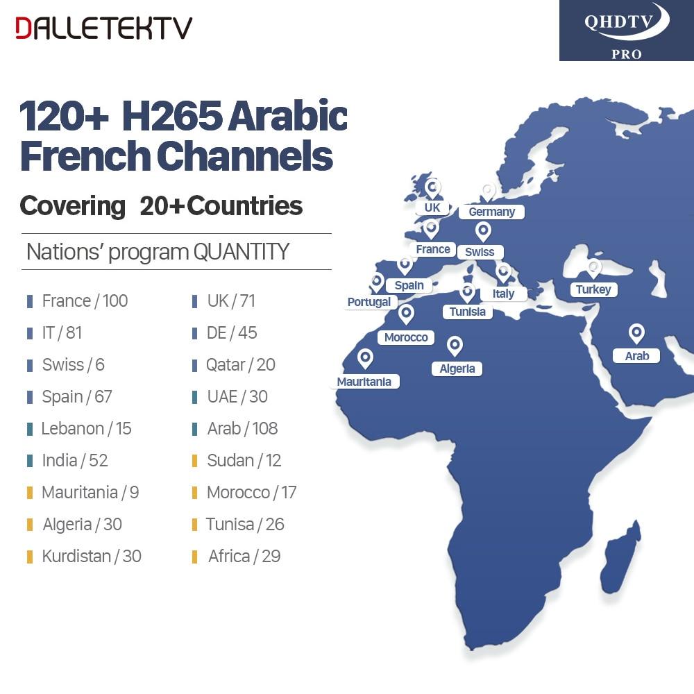 Arabic IPTV Box Dalletektv Smart Android 7.1 TV Box (2)