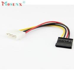 Кабель-адаптер Одежда высшего качества Новый 18 см USB2.0 IDE для Serial ATA SATA HDD жесткий диск Мощность шнур Кабо дропшиппинг 17July6