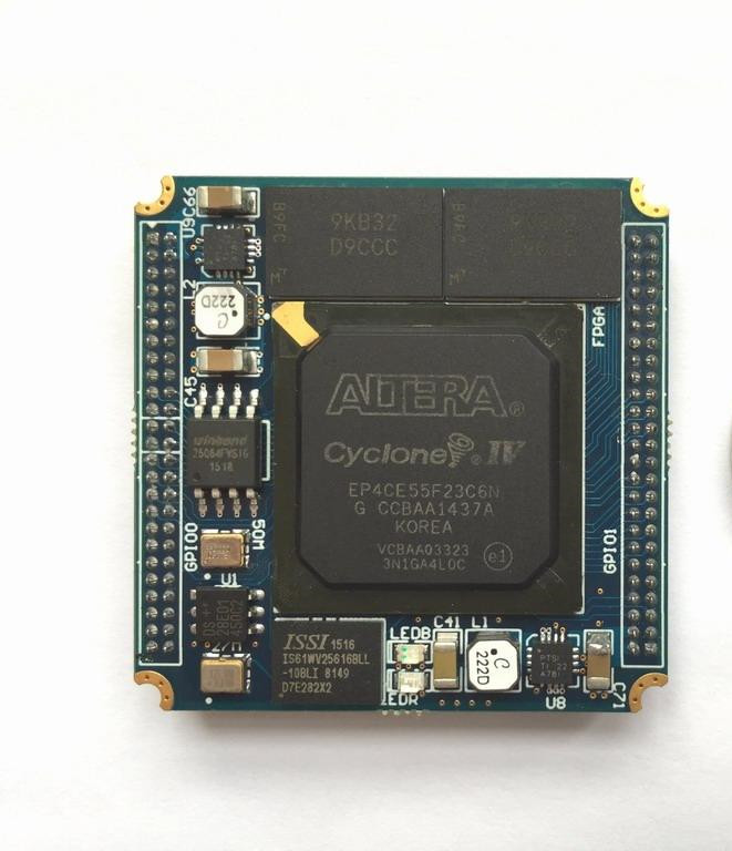 ALTERA EP4CE55F23 FPGA Minimum Core Board