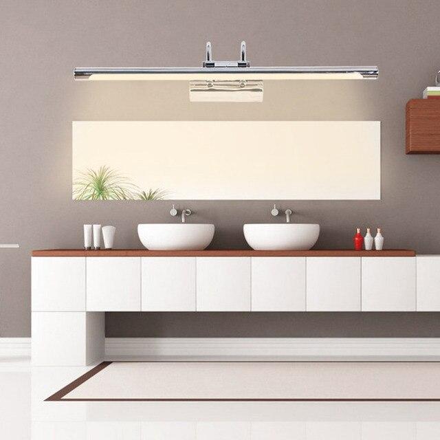 Spiegelkast Verlichting Badkamer.Led Buigen Buis Licht Badkamer Slaapkamer Verstelbare Spiegelkast