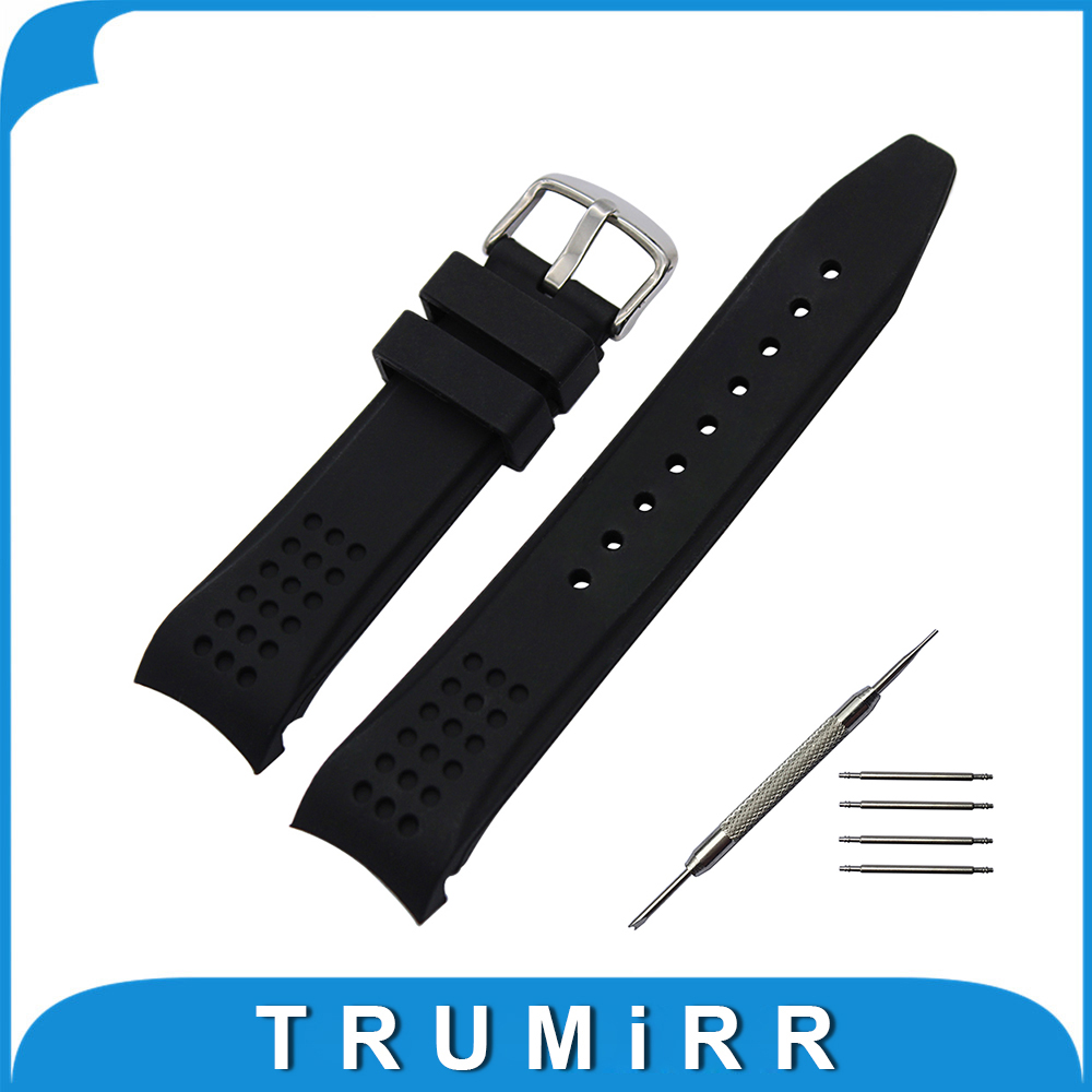 22mm Silicone Rubber Watchband Arc Strap + Tool for Casio Men Watch Band Stainless Steel Buckle Strap Wrist Bracelet Black 16cm gotenks dragon ball z action figure pvc collection figures toys for christmas gift brinquedos collectible with retail box