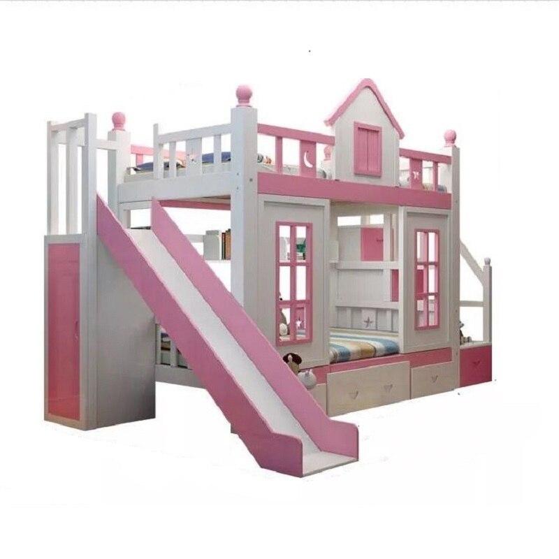 Set Mobili Per La Casa Recamaras Box Totoro Deck Frame Cama Moderna bedroom Furniture Mueble De Dormitorio Double Bunk Bed