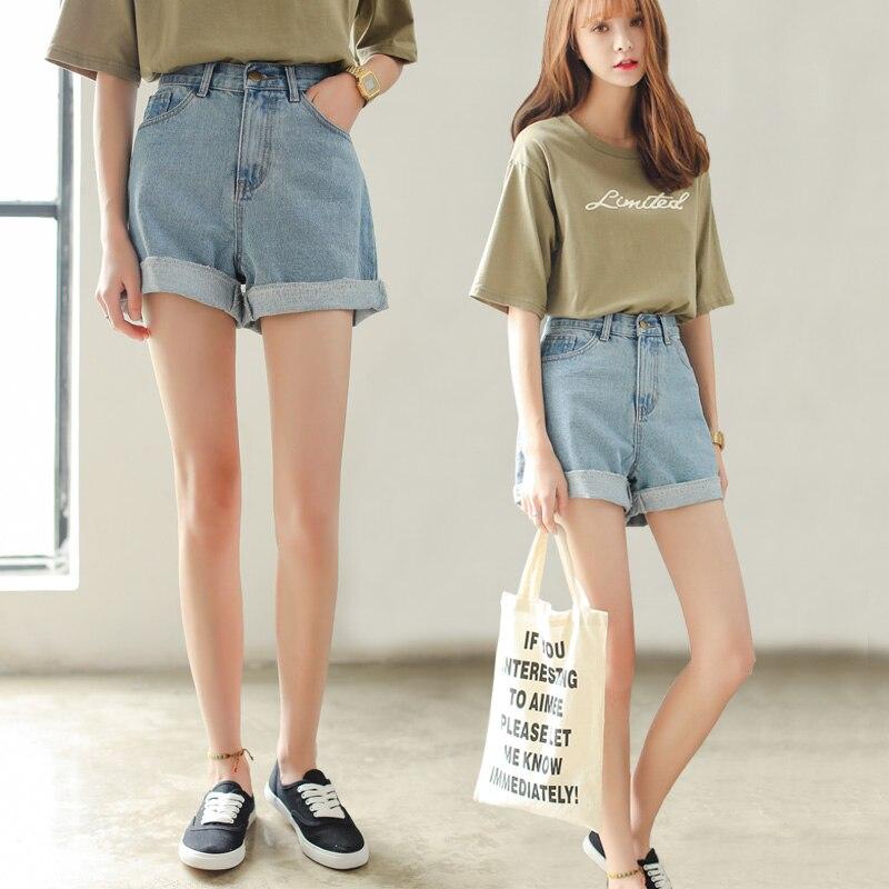 high waisted shorts korean style