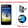 Nano Explosion-proof Soft Glass Clear Screen Protector Protective Lcd Film For Fly FS401 Stratus 1