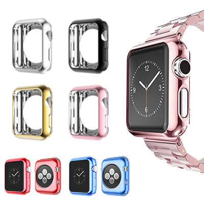 все цены на For Apple Watch Series 3 2 1 Soft Transparent Case Ultra Thin Clear Protective Cover Protection Smart Watch Bumper iWatch 2018 онлайн