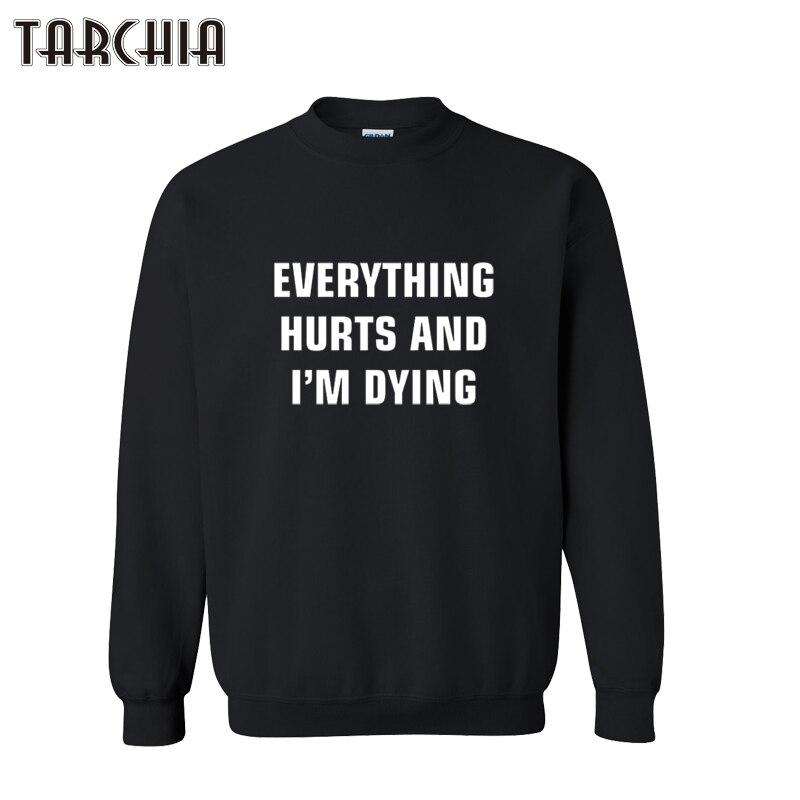 ₪TARCHIA 2019 nouveau hoodies pull tout fait mal sweat