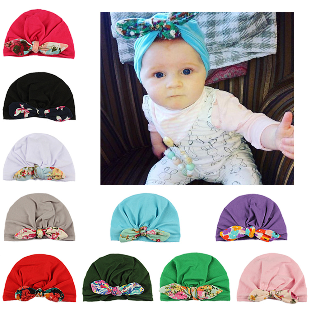 Detail Feedback Questions about 1pcs Chosen Girls Boys Soft Turban Rabbit  Ear Knot Cap Beanie Hat Muslim India Hat Bohemian bows Hat on  Aliexpress.com ... 104c29abe9d5