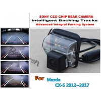 Imports CCD Night Vision Intelligent Car Parking Camera With Backing Trajectory Rear Camera For Mazda CX