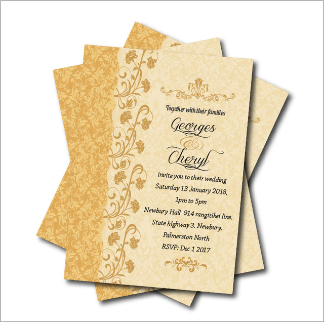 20pcs Vintage Lace Rustic Wedding Invitations Bridal Shower Invite