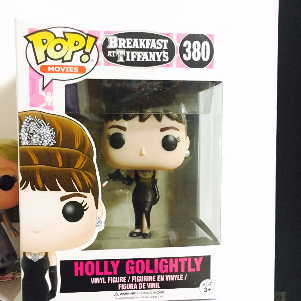 ФОТО Funko pop Official Movies Breakfast at Tiffany's Holly Golightly Vinyl Figure Collectible Model Toy with Original Box