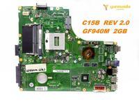 Original for PEGATRON K56L C15B Laptop Motherboard C15B REV 2.0 tested good free shipping