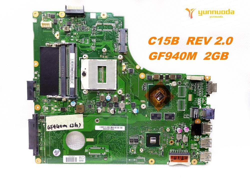 Original pour PEGATRON K56L C15B carte mère d'ordinateur portable C15B REV 2.0 testé bonne livraison gratuite