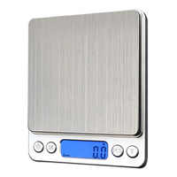 1000g/ 0.1g LCD Digital Scales Electronic Stainless Steel Precision Jewelry Scales Weighing Device with Backlight