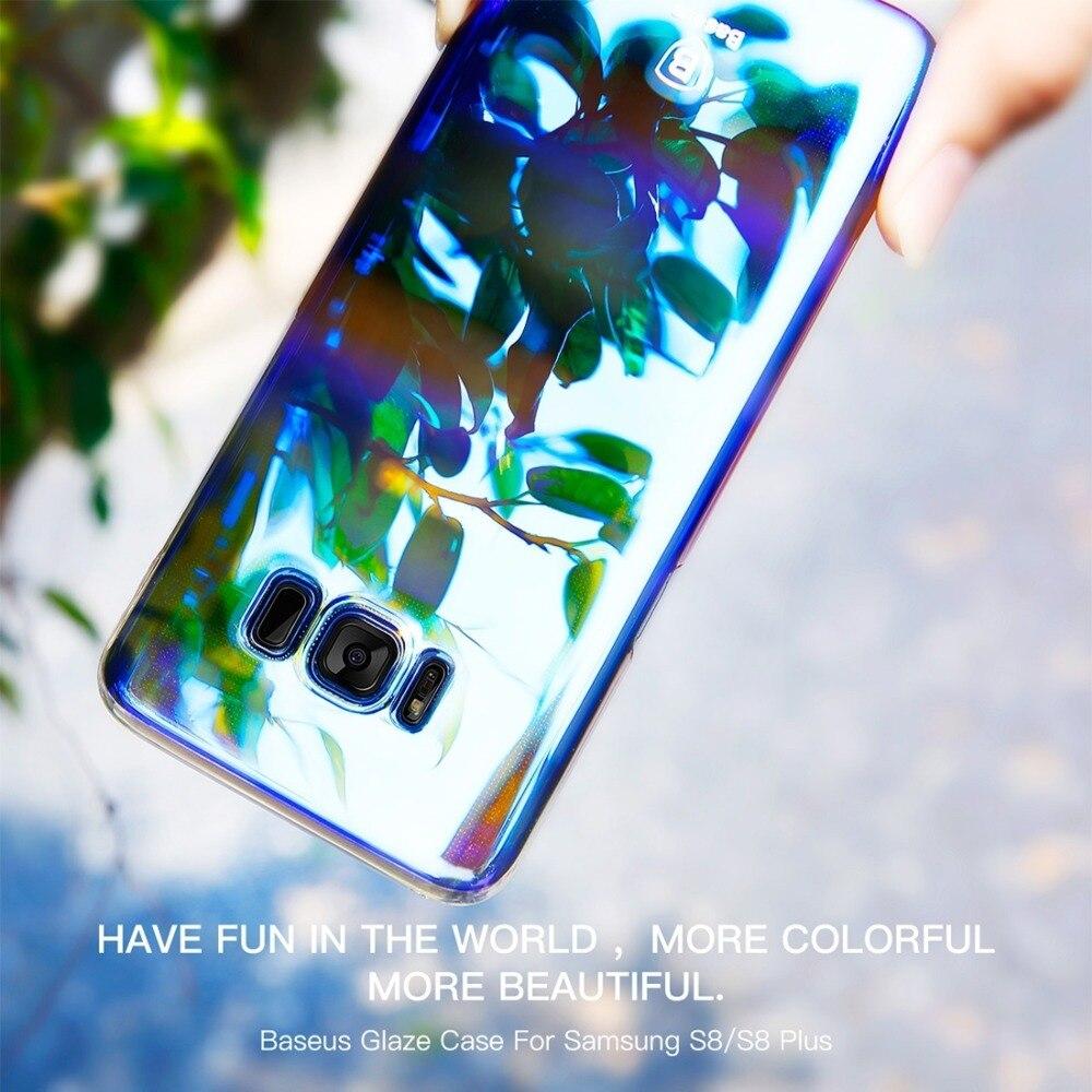 Caso de Baseus para Samsung Galaxy S8 S8 Teléfono Más de la PC Ultra-Delgado Esp