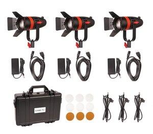 Image 2 - 3 Pcs CAME TV Boltzen 55w Fresnel Focusable LED Daylight Kit F 55W 3KIT Led video light