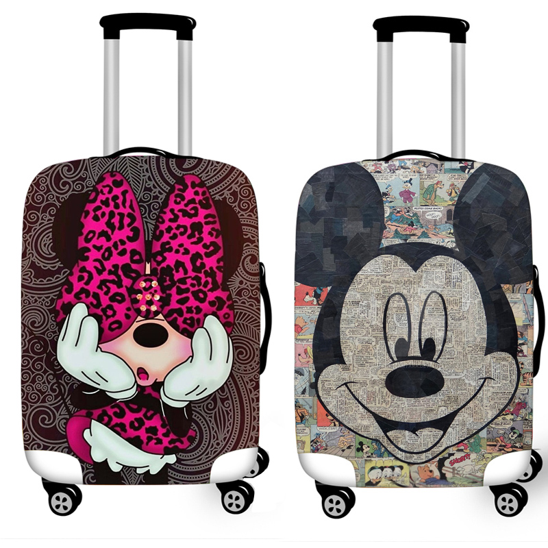 Protective-Cover-Case Cases Covers Trolley Travel-Accessories Elastic-Luggage Mickey title=