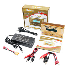 HTRC Imax B6 V2 80W 6A RC pil şarj dengeleyici LiIon/can/NiCd/NiMH/yüksek/liHV/güç pil şarj cihazı + 15V 6A AC adaptörü