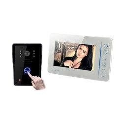 7 YobangSecurity polegada LCD a Cores Vídeo porteiro Intercom Sistema de Câmera À Prova de Intempéries Night Vision Home Security FRETE GRÁTIS