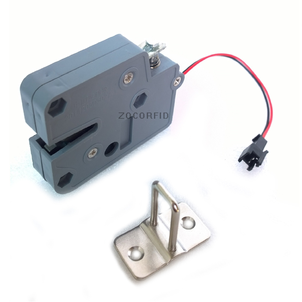 Cabinet Door Electric Lock Assembly Solenoid DC 12V 0.6A FOR Drawer/Sauna Lock