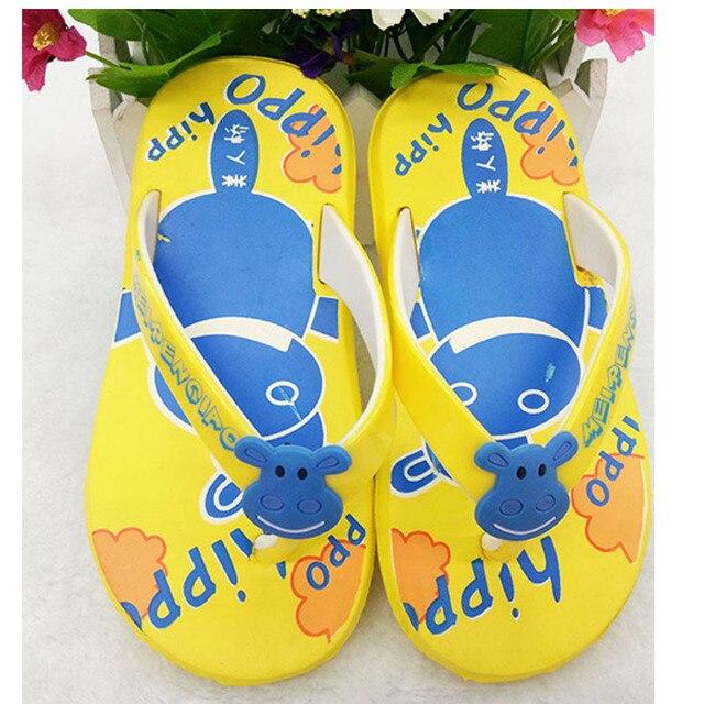 1c346e058 2018 summer children s slippers boys and girls New kids Soft Sole new  cartoon Beach sandles size 26-35