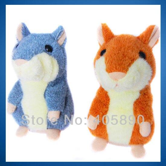 3pcs/lot Russian Talking Hamster Kids Interactive Plush Stuffed Toys