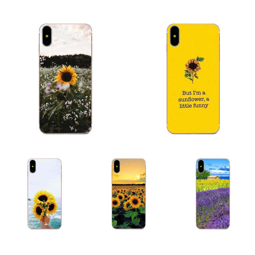 For Xiaomi Mi3 Mi4 Mi4C Mi4i Mi5 Mi 5S 5X 6 6X A1 Max Mix 2 Note 3 4 Soft Protector Sunfowers Fantasy Show image